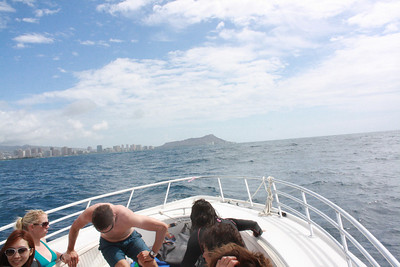 2012-10-24 Parasailing on Oahu