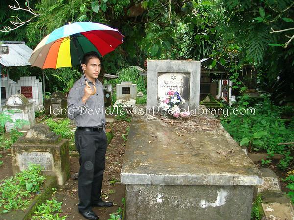INDONESIA, Manado. Grave of Sadka Ezikel in Mathungkas, Minahasa. (2007)