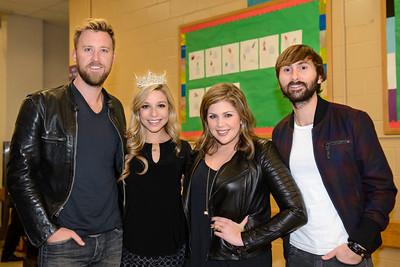 Lady Antebellum Photo-Op