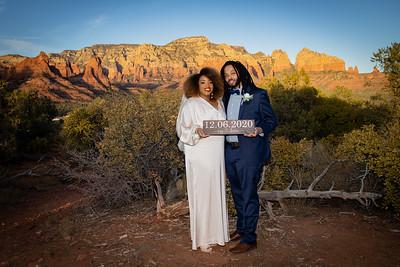 Devin & Riss's Sedona Wedding