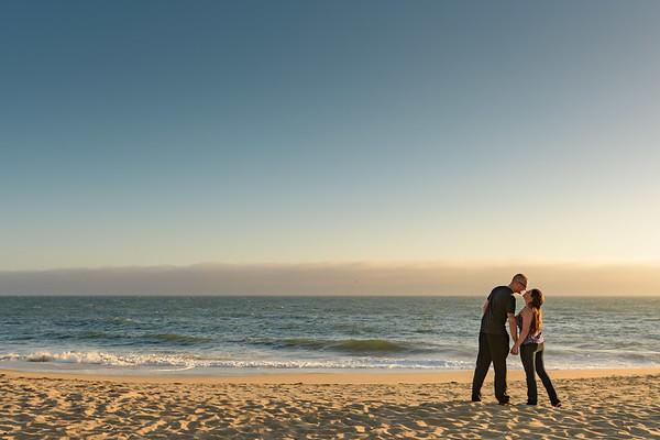 Maddie and Paul Engagement @ Davenport Beach
