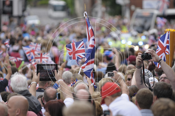 Olympic Flame Celebrations, Newport, Shropshire - 30 May 2012
