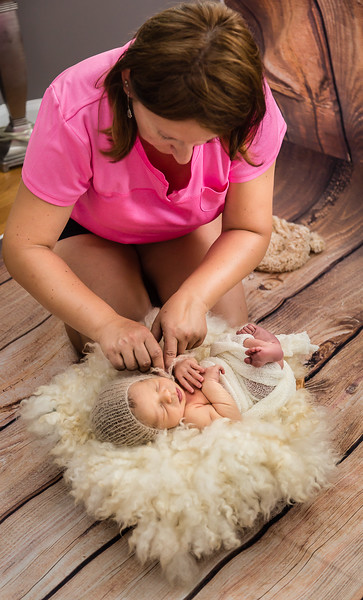 about newborn session