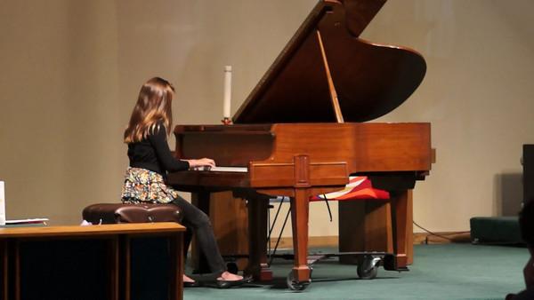 Noelle's recital
