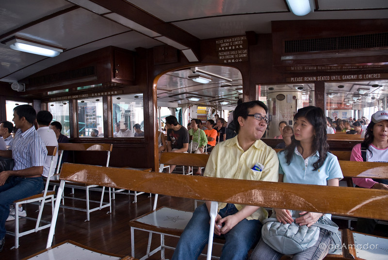 aeamador©-HK08_DSC0164. From Honk Kong to Tsim Sha Tsui by ferry.