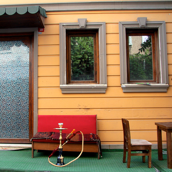 Hookah pipe in Sultanahmet (the Old City)