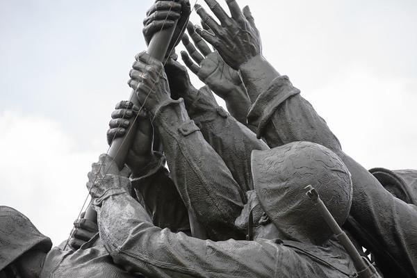 Iwo Jima, Air Force Memorial April 2019