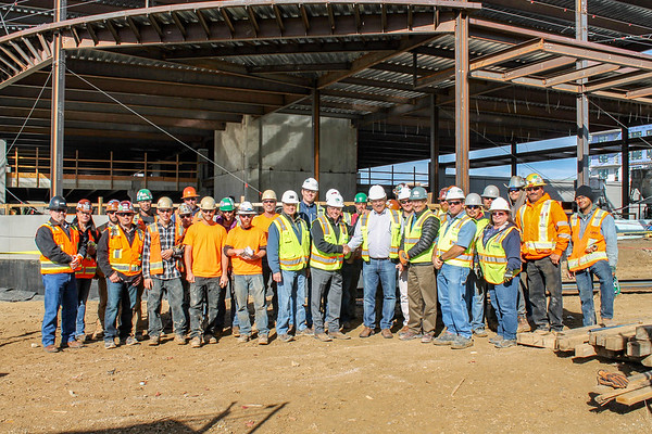 Kentwood DTC - Topping Out Ceremony