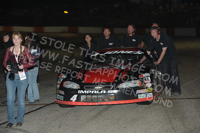 "North Late Model Series ""John & Sue McKarns 100"" Victory Lane"