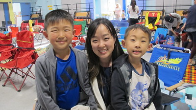 LCE Promotes Moms-and-Sons Bonding Evening