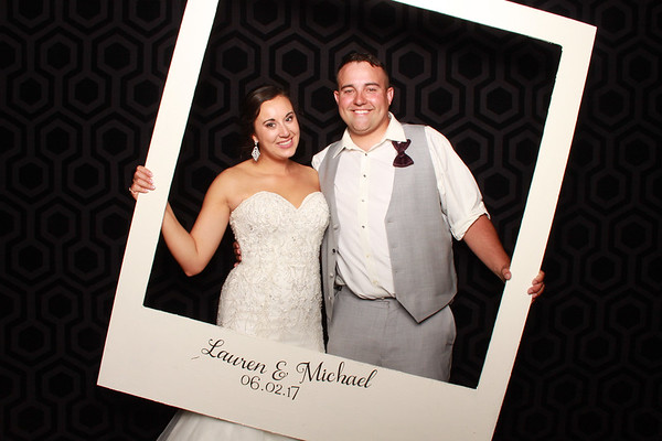 Lauren & Micheal Photo Booth