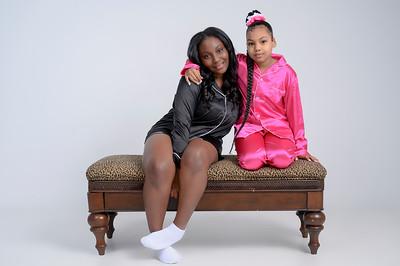 Kalia & Kamora Slumber Party PJ Shoot