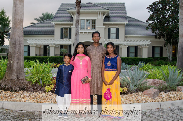 The Sangaraju Family