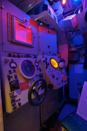 Sonar Shack & Forward Torpedo Room