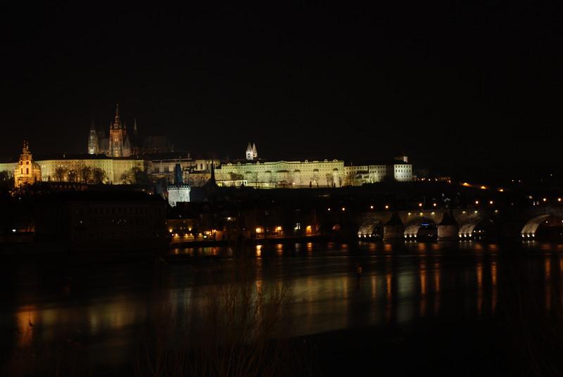 Prague Night Scene Near Water 26.JPG
