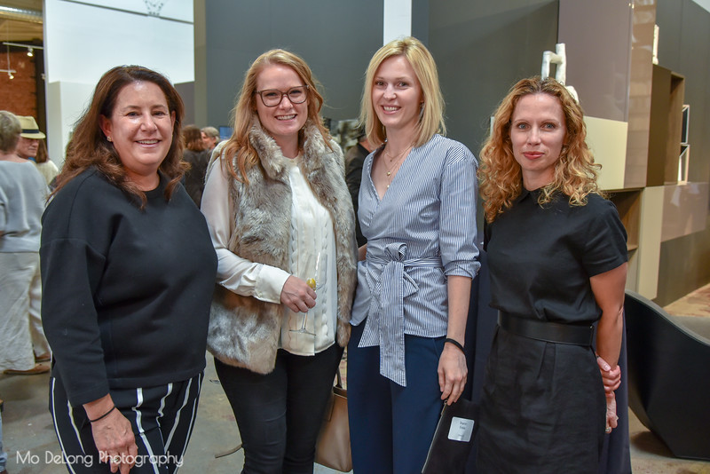Hilary Sessions, Linnea Clark, Sheron Finkle and Eve Forbord