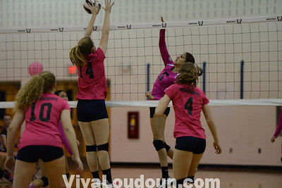 Volleyball: Woodgrove at Dominion 10.15.13 (by Chas Sumser)