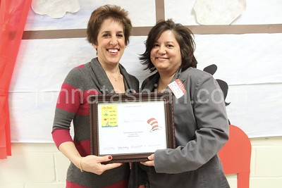 Dr. Suess Day - Reading at Plantsville School - February 21, 2013