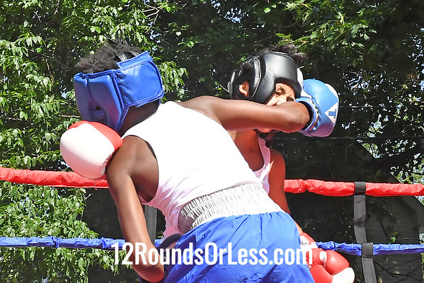Bout 7 Daben Figueroa, Red Gloves, Akron -vs- Janarion Forte, Blue Gloves, Cincinnati, 95 Lbs