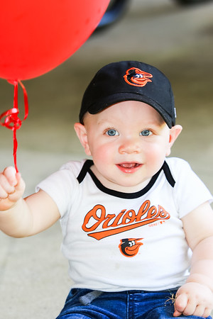 Connor's 1st Birthday - Take Me Out to the Ball Game!