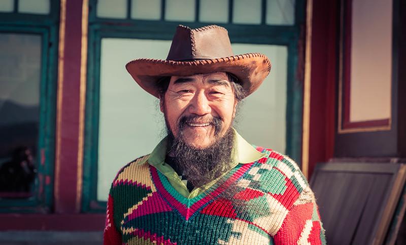 Happy Cowboy in Beijing