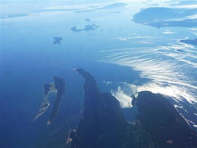 San Juan Islands aerial