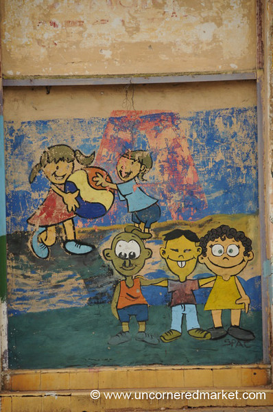 Diversity On the Playground - Asuncion, Paraguay