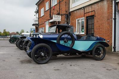 VSCC Light & Edwardian Vehicle 2014 - Brooklands Museum