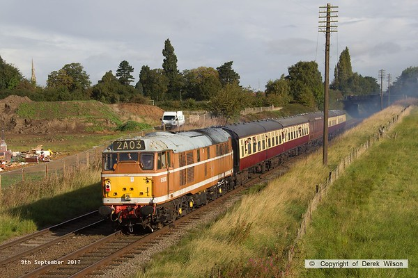 2017, 9th September, Great Central Railway Autumn Diesel Gala