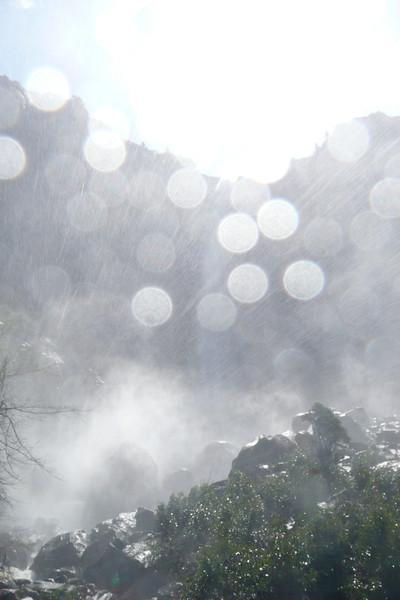 Bridalveil Fall. Yosemite NP
