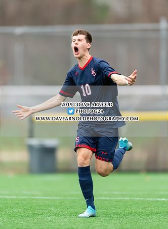 11/7/2019 - Boys Varsity Soccer - D1 North Quarter Final - Somerville vs Lincoln-Sudbury