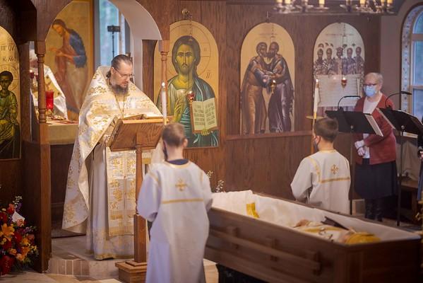 Divine Liturgy for Fr. Daniel Hubiak