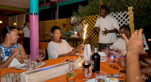 Martha's birthday bash