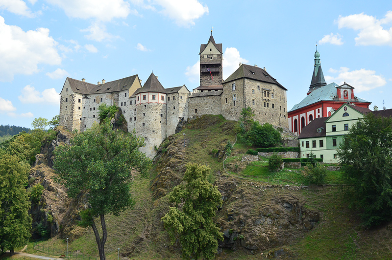 loket castle czech republic