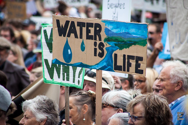 March To Save Our Water - Cathedral Square