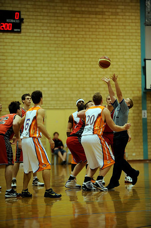 SBL - Basketball Perth Redbacks vs Kalamunda Suns 01/05/2010