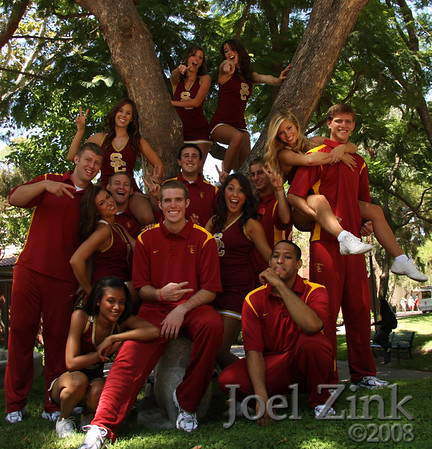 2008 USC Spirit Leaders