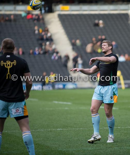 Saracens vs Northampton Saints, Aviva Premiership, Stadium:MK, 30 December 2012