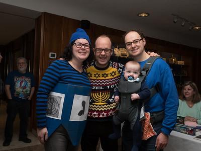 2017 Family Chanukah Party at Temple Sinai