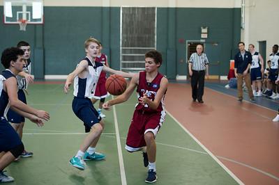 1/24/18: Boys' Thirds Basketball v Hotchkiss