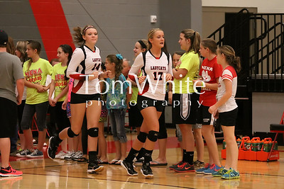 Mena vs Mansfield - LadyCat Volleyball 2013