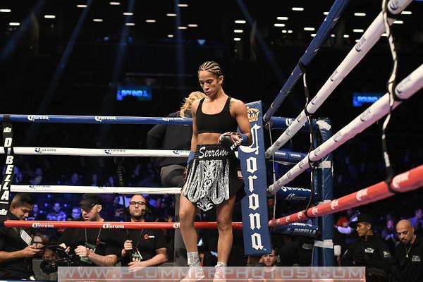 Amanda Serrano versus Yazmin Rivas