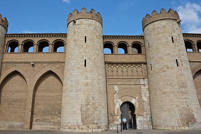 Zaragoza - Palacio de la Aljaferia