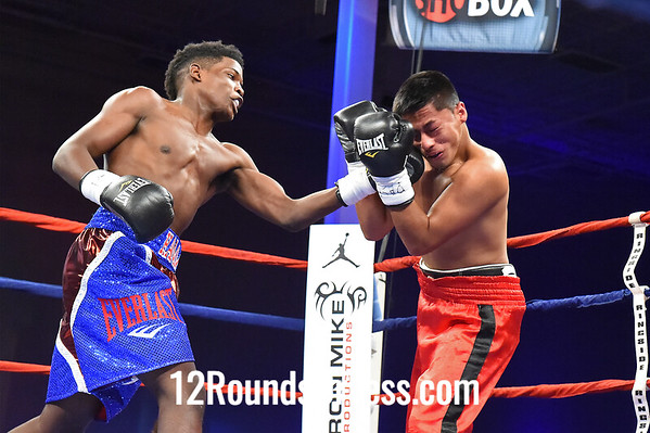 "Bout #5  Erickson ""The Hammer"" Lubin, Orlando, FL  vs  Jovan ""Negrito"" Ramirez, Sonora, Mexico  Welterweights"