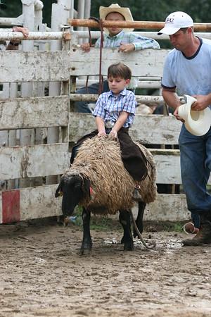 SPYR 08/12/2006 Sheep Riding