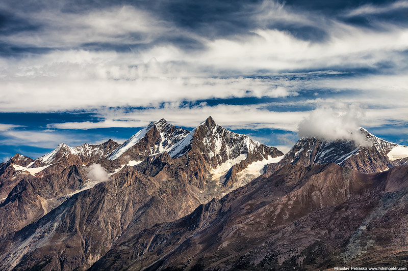 Alpine peaks