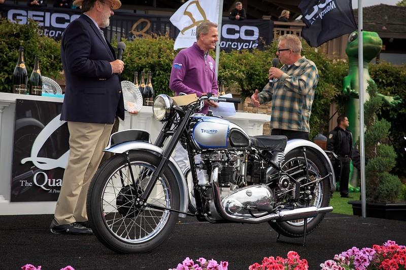 Quail Motorcycle Gathering - Award Winner - Triumph T100 Tiger Spirit of the Quail.jpg
