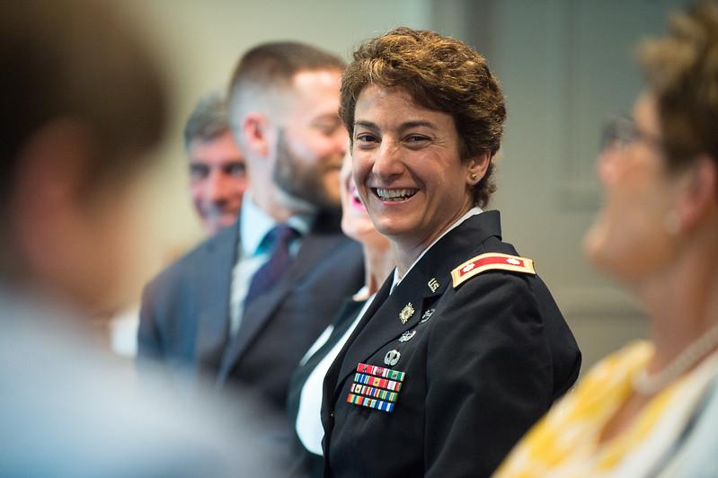 Col. Heather Carlisle Promotion