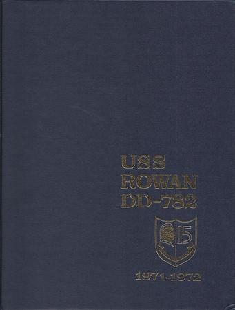 USS Rowan Cruise Book 1971-1972