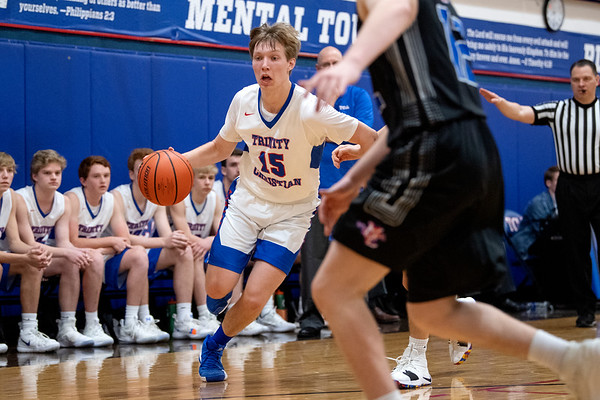 2019-01-04 TCA-Addison - Midland Christian Varsity Boys Basketball